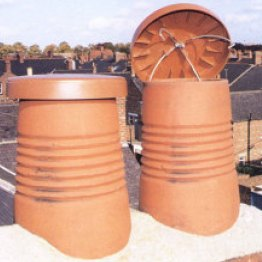 C-Cap Terracotta Disused Chimney Cap- Large