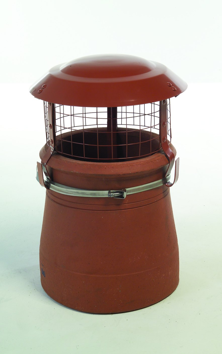 Multi Fuel Cowl Terracotta High Dome